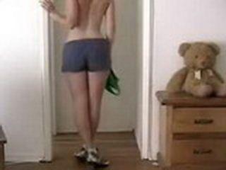 Cute Teen Ass Girl Dancing And Masturbating For Camera