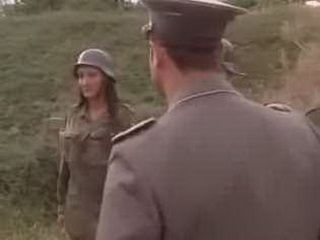 German Officer Have Special Treatment For Female Soldier