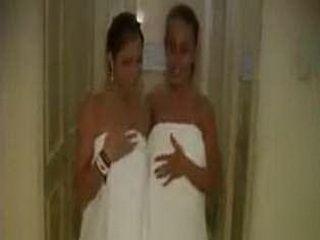 Two Lesbian TEens Having Sex In Hotel