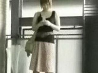 Sharking In Japan Poor Girl End Up Without Half Of Skirt