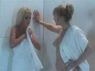 Lesbian Nice Pussyfuck In Girls Shower