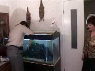 Russian Mom Have Better Fish For This Young Man