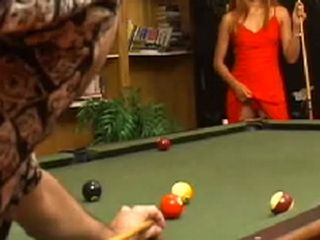 My Girlfriend Bet With My Dad That She Will Beat Him In Pool Game
