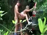 Amateur Couple Thought Nobody Can See Them