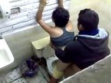 Latinoamerican Girl Caught Bean Fucked In Mexican Toilet