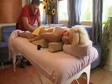 Blond Teen Comes To Wrong Uncle For The Massage