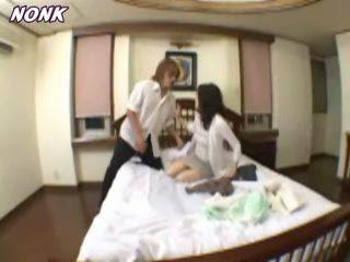 Japanese Boy Caught Friends Mom Masturbating