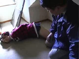 Teen Chloroformed Tied and Sexually Abused By Old Maniac