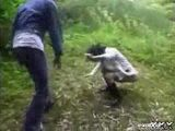 Humiliation In Forest