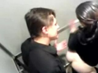 Horny Daddy Fucked Much Younger  Brunette Teen In Discotheque Toilet