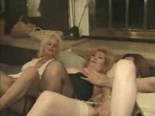 Granny Friends Organized Sex Party For Thank Giving Day