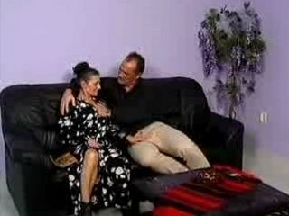 German Mature Mom Fuck Her Much Younger Husband With All Her Holes
