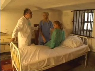 Old Doctor at Mental Institution Has New Therapy For The Girls