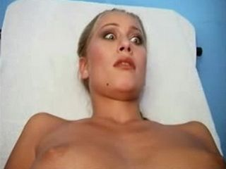 Blonde Gyno Fetish Speculum Pussy Examination At Kinky Gyno Clinic