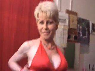 Mature Old Slut Gets Fucked By a Large Group of Horny Guys