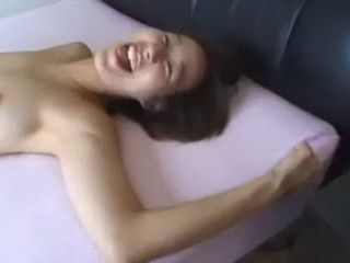 POV Fucking a Tight Bodied Young Asian and Jizzing On Her