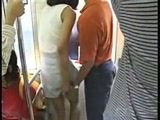 Japanese Teen Fucked In A Train