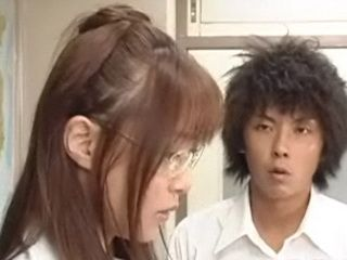 Loser Japanese Student Fucked By His Hot Horny Female Teacher