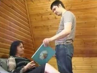 Granny Mother Abuse Young Neighbors Grandson