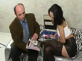 Brunette Tries Out Dildos and Dicks in Her Pussy