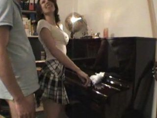 Amateur Maid Fucking Her Boyfriend on Piano