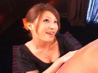 Hot Sexy Japanese Milf Blowjob