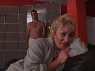 Granny Hayes in Lingerie Fucked by a Younger Guy
