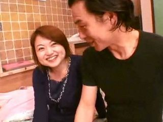 Japanese Couple Sextape of Cuckold Wife and First Neighbor