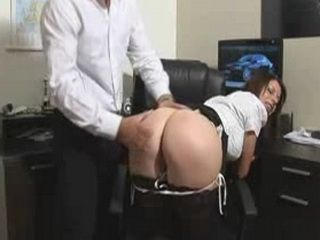 Bigtits Secretary Get Her Ass Spank