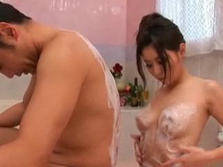 Oily Japanese Babe Massage and Fuck