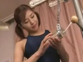 Japanese Device Creates Cum Shower Over Asian Hottie