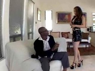 Busty Little Asian Loves Big Black Cock