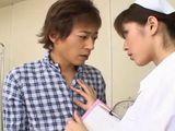 Japanese Nurse Jerks and Sucks Him Back to Health