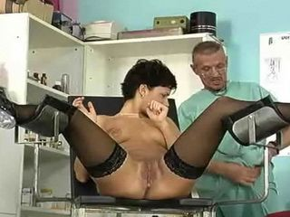 Gynecologist Makes Sure Her Pussy Is Working
