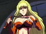 Anime Babe Double Drilled With Toys