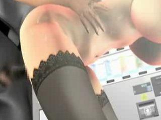 Horny Busty 3d Cutie Fucked Hard  By Boss