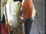 Japanese Grope and Fuck In Bus