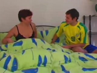 Russian Moms Second Evening With Younger Man