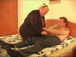 Fat Russian Blonde Fuck Student Boy