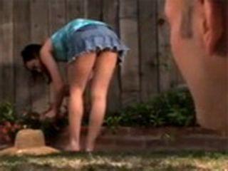 Guy Found Neighbours Daughter Working in Garden