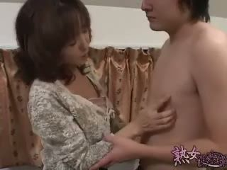 Japanese Mom Fuck Neighbor Kid or Mother-Son Incest - Uncensored Porn