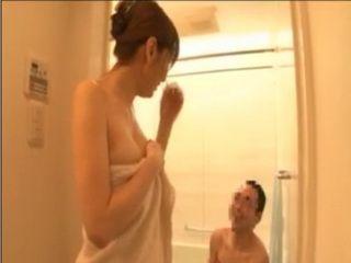 Asian Full Body and Soapy Handjob