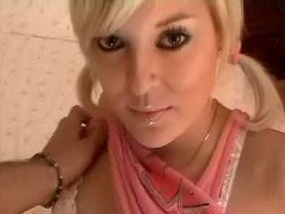 Hot Blonde Student Sucking and Fucking