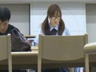 Older Man takes Advantage of Female Asian Student