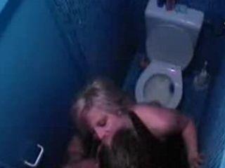 Caught Suck in Public Toilette