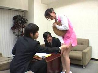 Japanese Secretary Experience Harassment At The Work Place