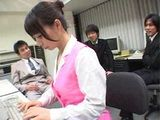 Japanese Secretary Gets Gangbanged At Office