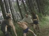 Wife Gets  Fucked In Forest While her Husband Was Forced To Watch