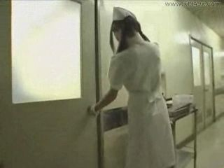 Nurse at Night Shift GangFucked By Bunch Of Patients