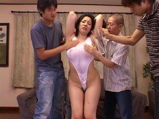 Bunch Of Boys Gangbang Hot Asian MILF